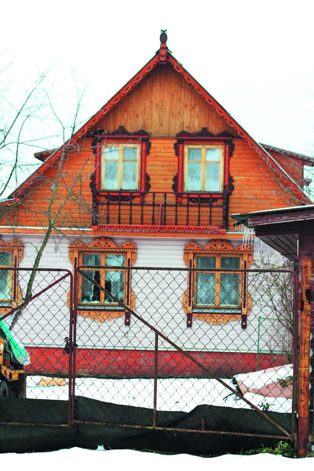 Дом М.В. Ворноскова в Кудрино. 2013 год