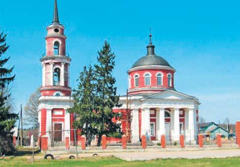 Ахтырская церковь села Ахтырка. Современный вид