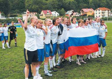 Хотьковская женская футбольная команда