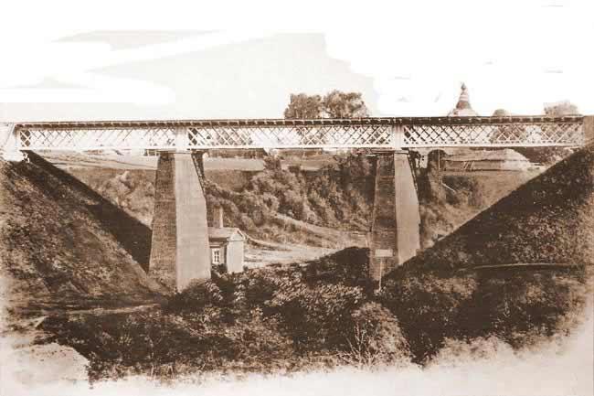 Хотьковский железнодорожный мост. Архитектор-проектировщик Александр Симонович Рехневский