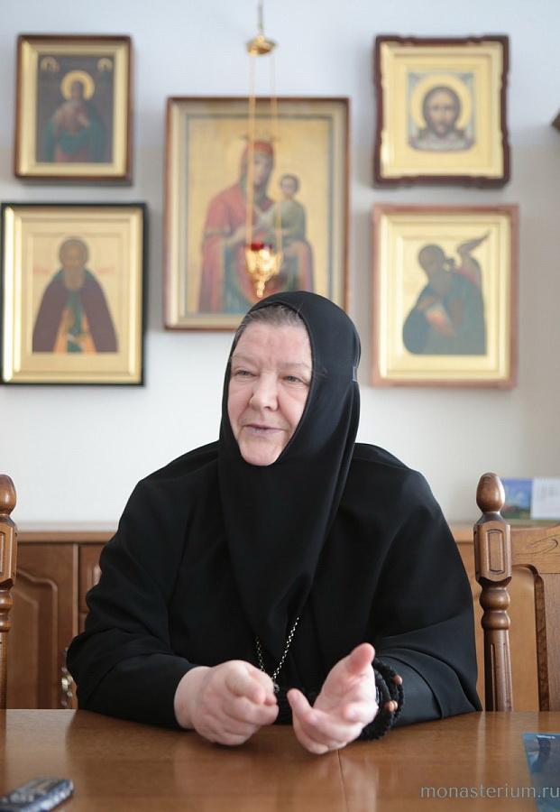 Игумения Олимпиада. Покровский Хотьков монастырь