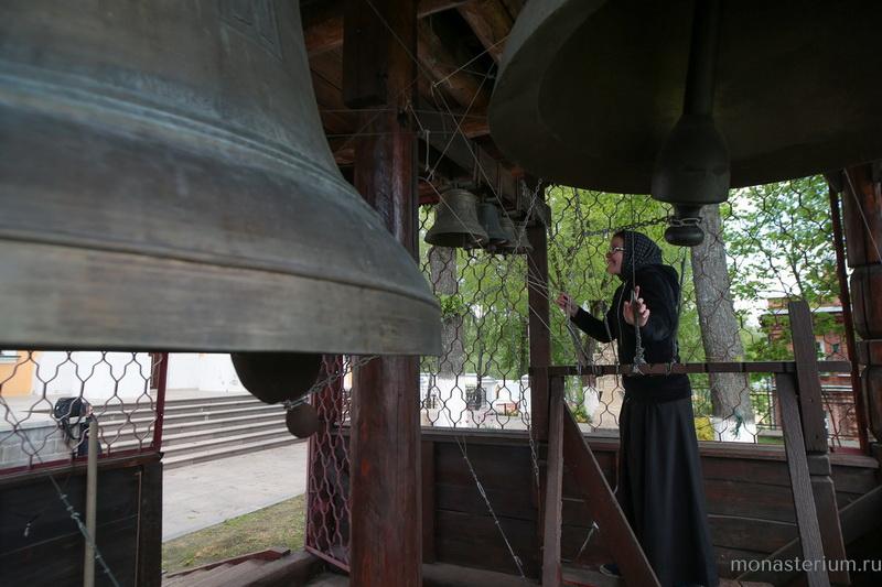 Покровский Хотьков монастырь. Колокольня