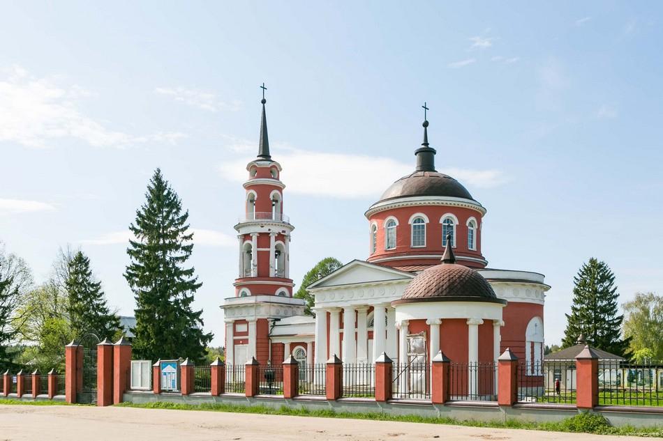 Церковь Ахтырской иконы Божьей Матери. Современный вид