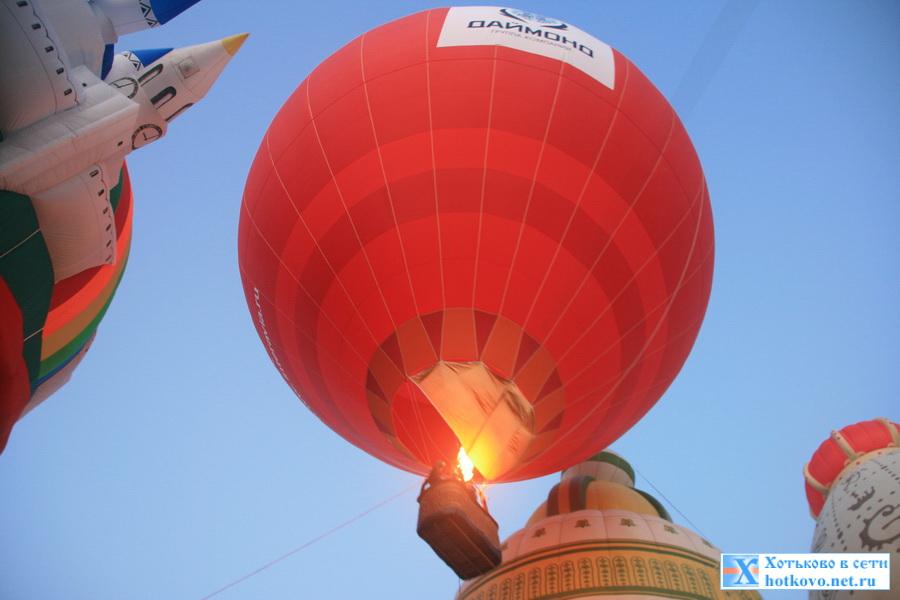 Небо святого Сергия. Фестиваль тепловых аэростатов. Хотьково 2014