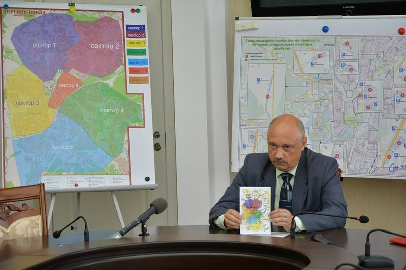 Ограничение въезда в Сергиев посад. Июль 2014