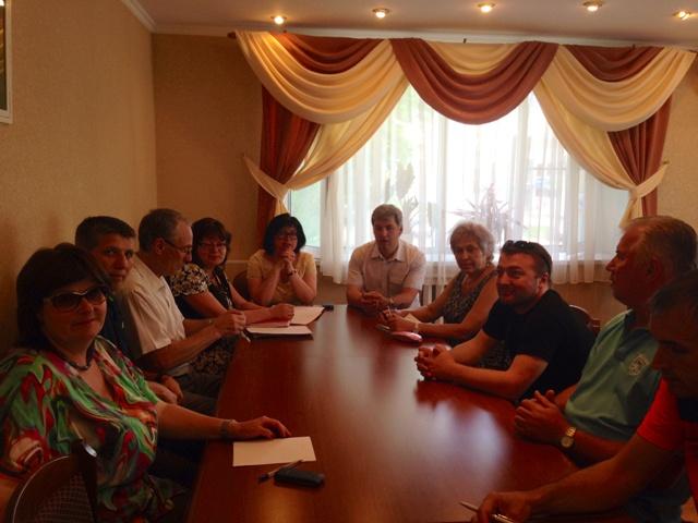 Встреча со спортивной общественностью Хотькова