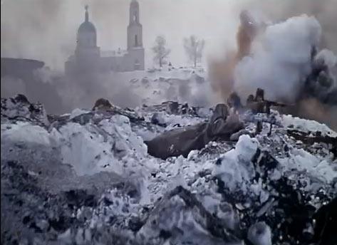 Аты-баты шли солдаты. Съмки близ Радонежа