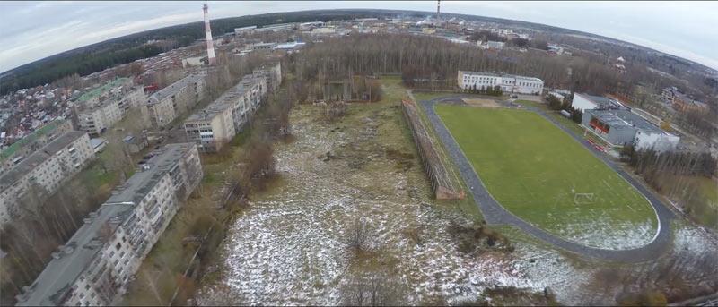 План застройки спорткомплекса Олимп в Хотькове