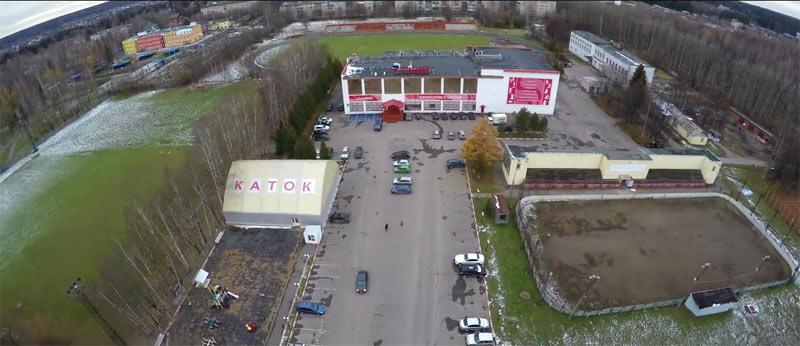 Планируемые места застройки территории спорткомплекса Олимп