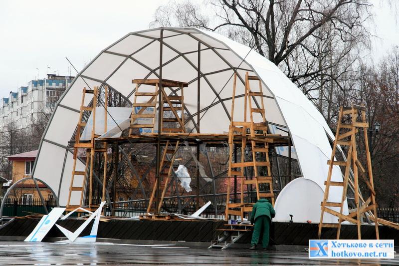 """Приглашение на торжественное открытие парка """"Покровский"""" в Хотьково"""