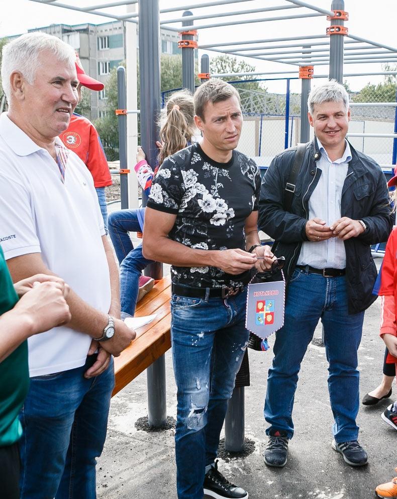 Александр Легков в Хотькове