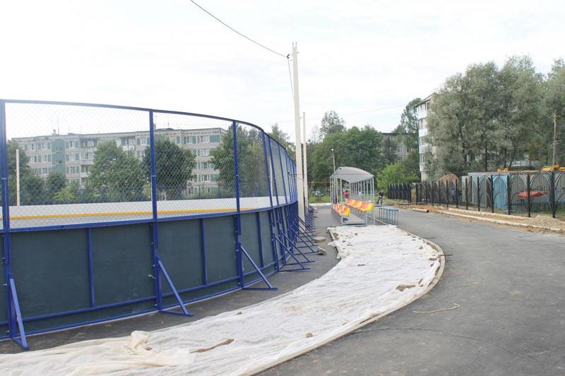 Мини-стадион Ядро. Хотьково