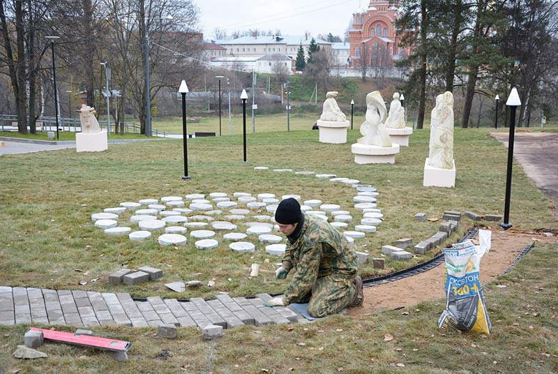 В Хотькове началось создание «Арт-тропы России»
