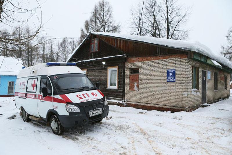 Хотьковская больница. Январь 2017