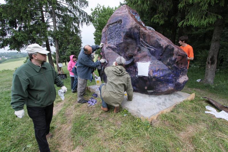 Камень на Филимоновой горе. Хотьково