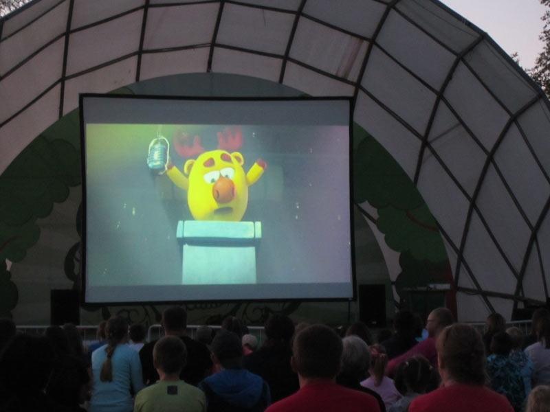 Ночь кино прошла в Хотькове 27 августа 2016