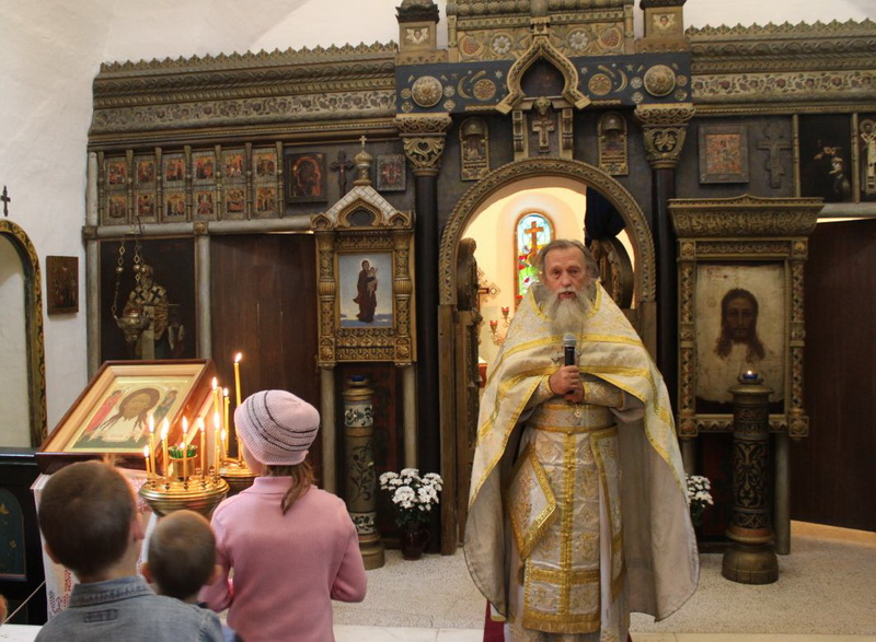 Праздник Спаса Нерукотворного в Абрамцеве, 28 августа 2016 г.