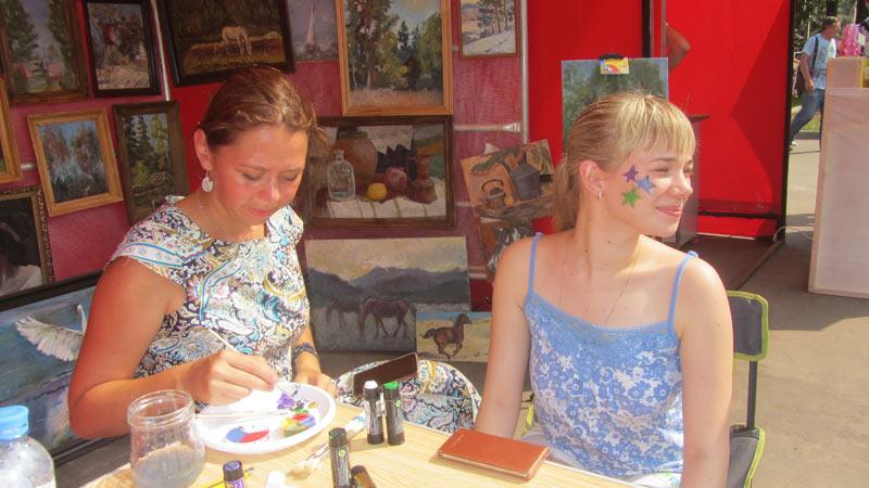 В нашем городе прошел арт-фестиваль «Сделано в Хотьково»