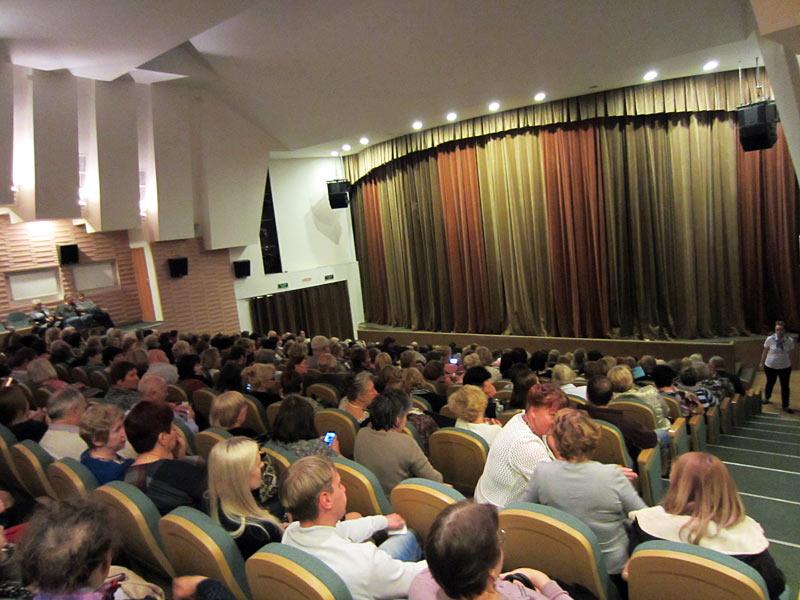 Финальный аккорд на струнах дождя… Спектакль На струнах дождя прошел в Хотькове