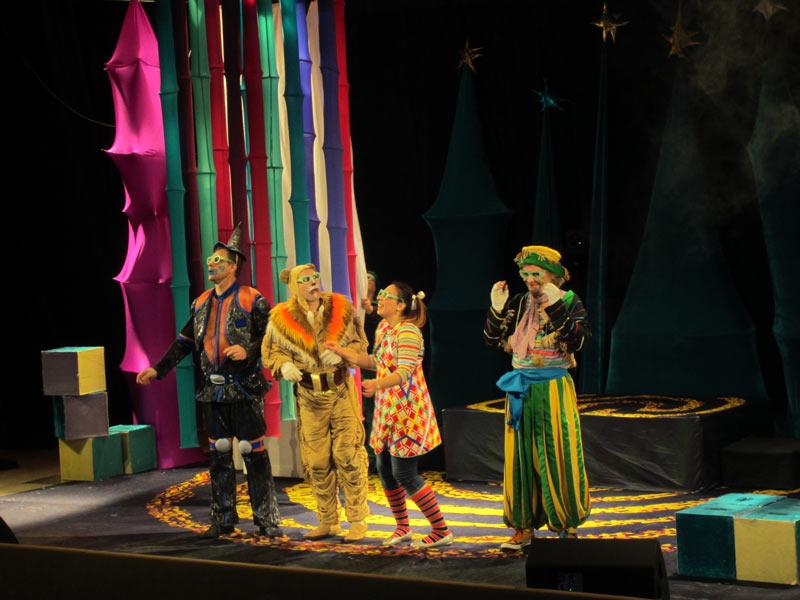 В Хотьково приехал «Волшебник… - спектакль Волшебник изумрудного города