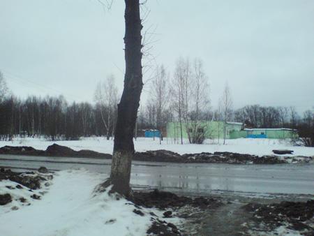 Предполагаемый участок под строительство Храма в Хотькове.