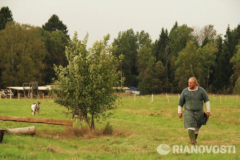 Павел на своем Хуторе недалеко от Хотькова