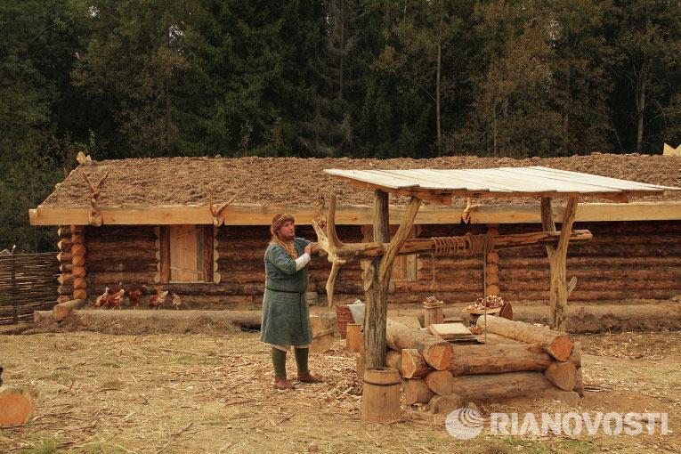 Павел на своем хуторе в 45 км от Москвы, близ Хотькова