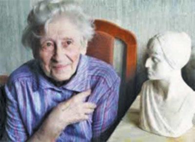 Наталья Винокурова. Ветеран Великой отечественной Войны. Хотьково.